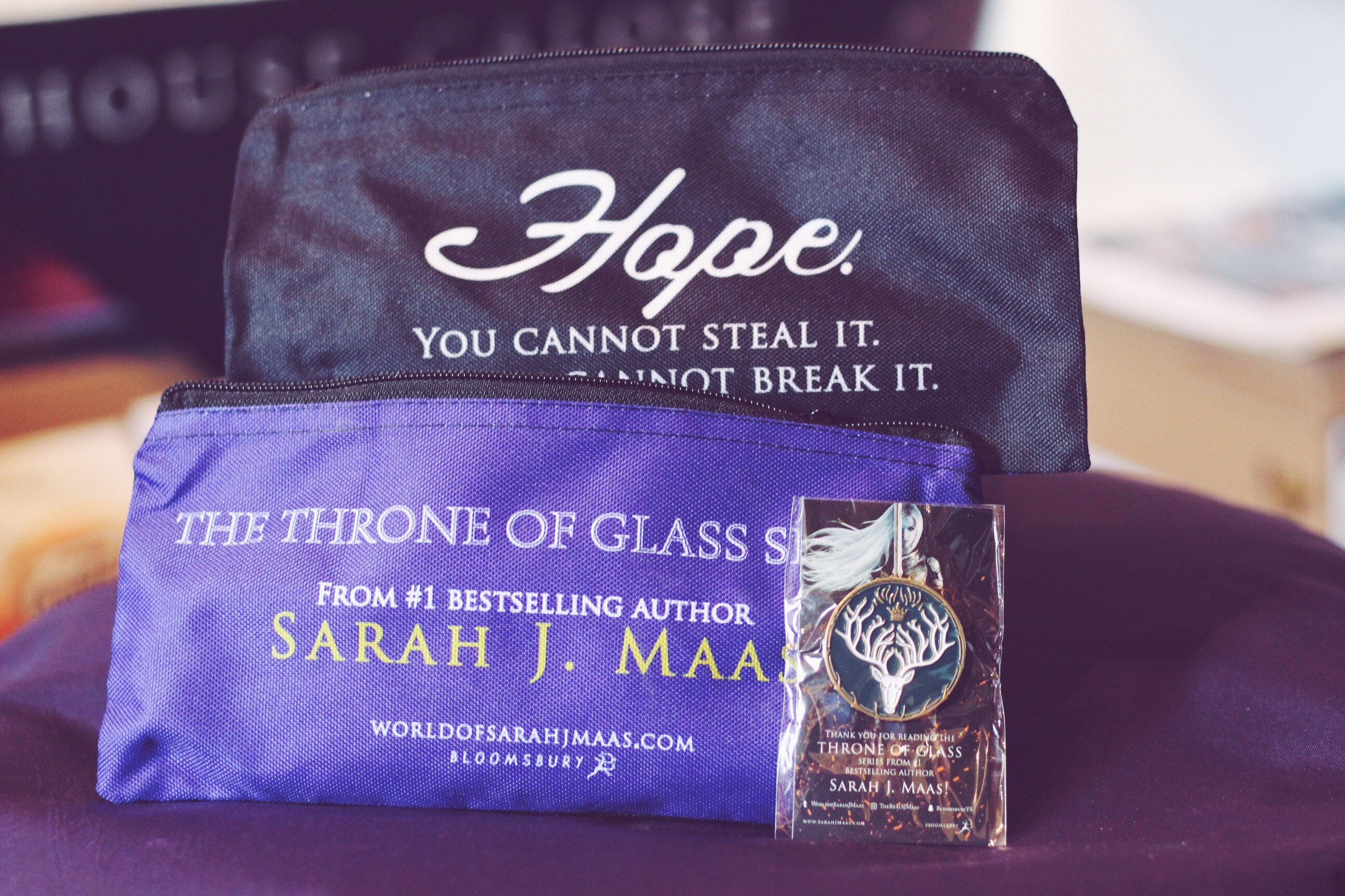 Throne of glass goodies